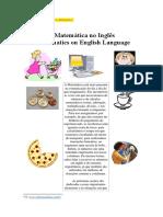 Apostila de Língua Inglesa - Os Números Na Matemática