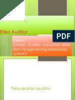 6 Auditor Dan Etika Auditor
