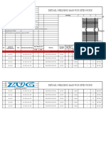 001 Detail Welding Map for Site Project Economizer (PLTU Malinau 2x3 MW)