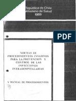 Normas Infrahospitalarias