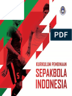 Buku Kurikulum Pembinaan Sepakbola Indonesia PSSI