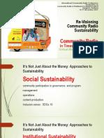 Re-Visioning  Community Radio Sustainability in Bangladesh