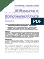 Farmacocinética de Sistemas de Administración Transdérmico - Estudios Realizados en El Tema Haciendo Énfasis en Los Desarrollados en Los Últimos Cinco Años