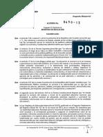 Acuerdo 450-13 Mnasge
