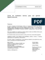 Nch0664-70 Oxido de Molibdeno Tecnico..