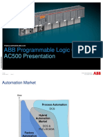 PLC AC500 Presentation 3ADR025066N0201 Update 19 March 2015