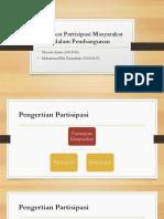 Tingkat Partisipasi Masyarakat dalam Pembangunan.pptx