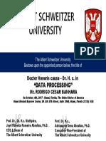 RODRIGO CESAR BANHARA - Dr Honoris Causa in Data Processing