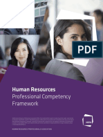 Professional Competency Framework