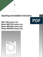 Siemens Washer Machine