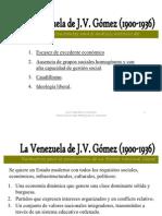 La Venezuela de J.V. Gómez (1900-1936)