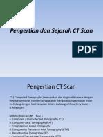 Pengertian Dan Sejarah CT Scan