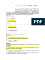 Teoria Organizaciones Examen Final