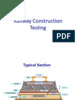 Railway Construction Testing