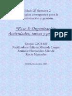 HernándezAllende RocíoMercedes M23 S2 Actividadestareasyprocesos