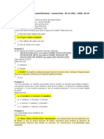 Creatividad Empresarial Examen Final 2