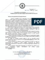 Proiect | Standard de repartizare a nivelelor de ierarhizare