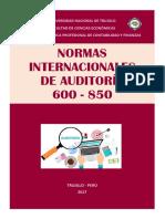 Normas Internacionales de Auditooria 600 - 850