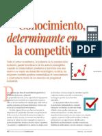 Conocimiento Determinante en La Competividad CMIC