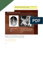 Modernism Art(Iris' report)