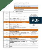 Programa v Feria de La Ingeniería 2017