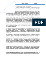 La Agroindustria en Guatemala