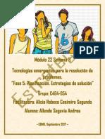 AllendeSegovia Andrea M22 S3 Estrategias de Solución