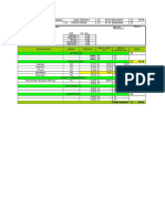 aportes unitarios para calculos de materiales e insumos