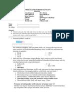 Tes KPS Siklus II Revisi 1