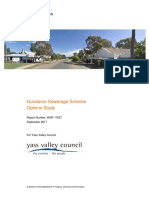 Gundaroo Sewerage Scheme - Draft Options Study - September 2017