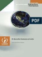 Derecho Humano Al Voto