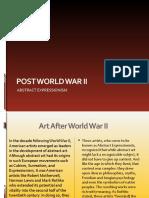 Post World War II Art(Rose's report)