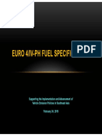 Euro 4 Spec for Gasoline and ADO