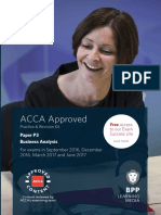 ACCA - P3 Business Analysis - Revision Kit 2016-2017