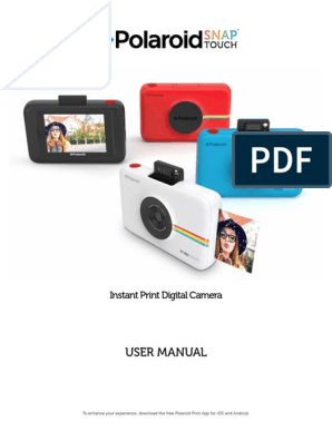 Snap Touch User Manual En | Camera | Electromagnetic