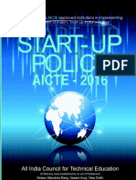 Startup Policy_new India