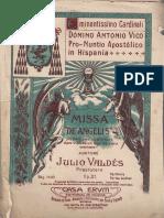 Misa de Angelis Con Polifonia.