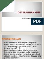 Determinan GNP