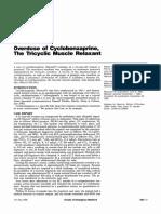 Cyclobenzaprine Case Report