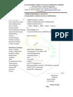 Form Komisariat Anggotavunika