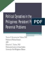 Teresa Tadem Political Dynasty