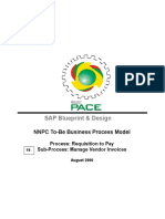 BP315 B01 10 Subprocess Manage Vendor Invoices