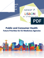 AESGP Conference With the Heads of EU Medicines Agencies - Programme