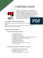 Rhce Certification