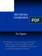 6 Sigma Projects Presentation