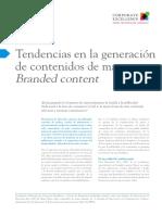 I37 Tendencias en La Generación de Contenidos de Marca- Branded Content
