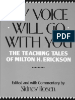75244092 My Voice Will Go With You the Teaching Tales of Milton H Erickson Edited by Sidney Rosen