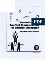 Guidelines for Conflict Management in Special Education - Portland Public Schools