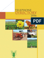 ICAR Telephone Directory