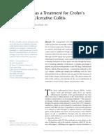 Vedolizumab as a Treatment for Crohn's PDF